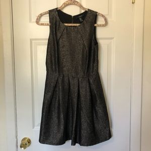 Forever 21 Gold Glitter Party Dress Size M